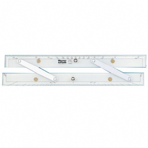 "Weems & Plath Parallel Rulers 12"" 305mm For Navigation & Chartwork"